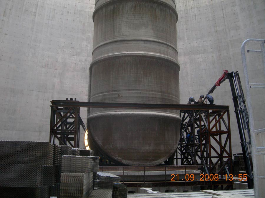 FGD Pipe Restoration in the Cooling Tower of Melitis SES