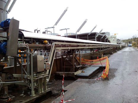 Wet Sludge Conveyors at Units IV and V SES Megalopolis