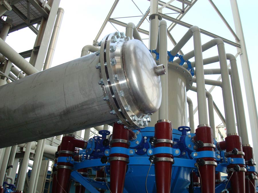 Hydrocyclones - Desulfurization System of Unit IV Megalopolis B'