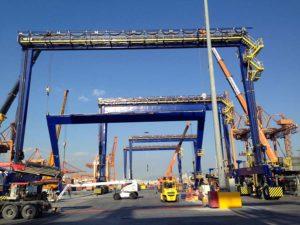 ERTG cranes at Piraeus