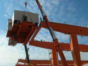 RMG Cranes at Piraeus Port