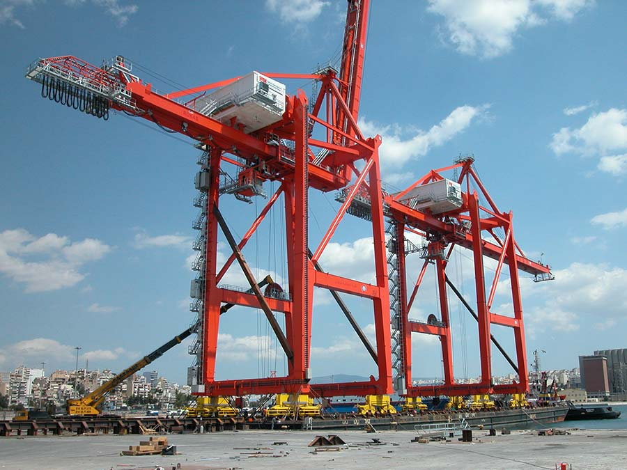 STS cranes for Tartous port in Syria