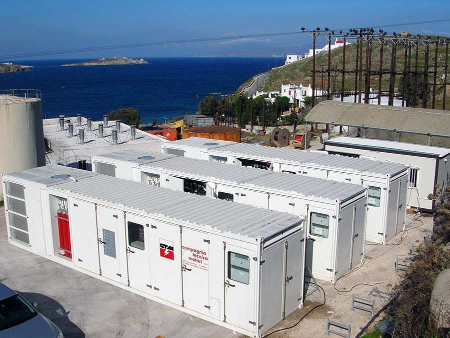Generating Sets at various Greek Islands