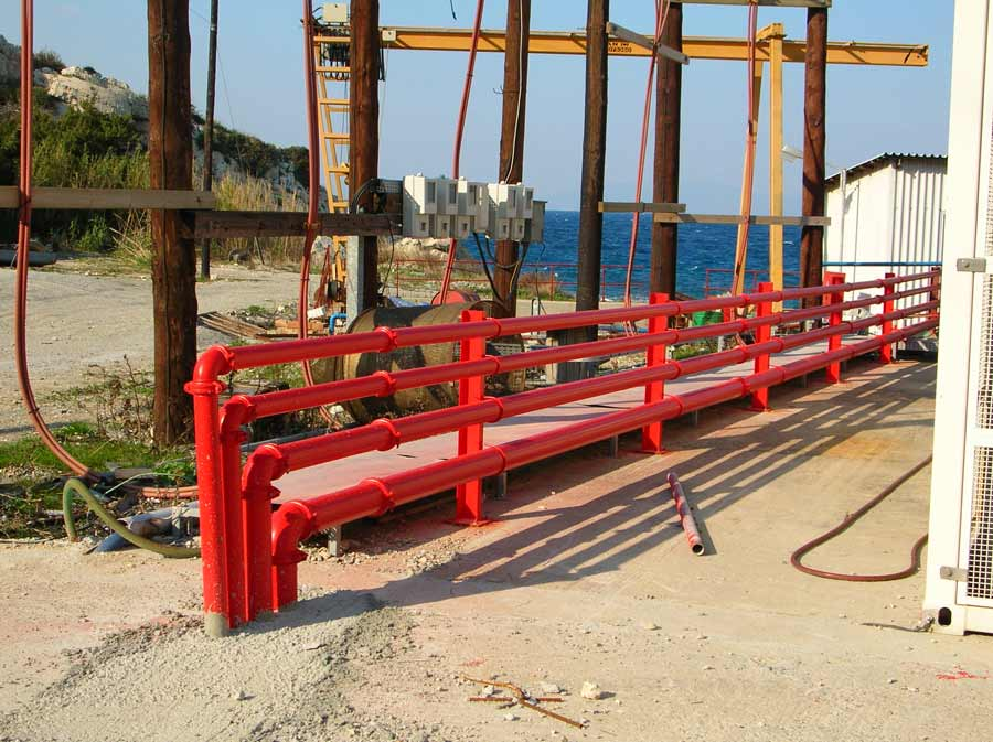 Fire Protection System at Samos TPS