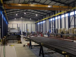 Manufacturing of high pressure parts