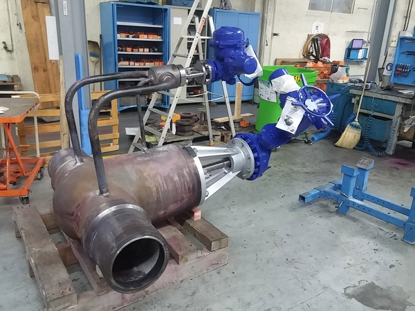 Replacement of Collectors and steam Pipes