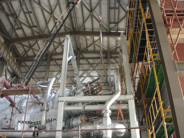 Erection of Gas Turbines and Generators