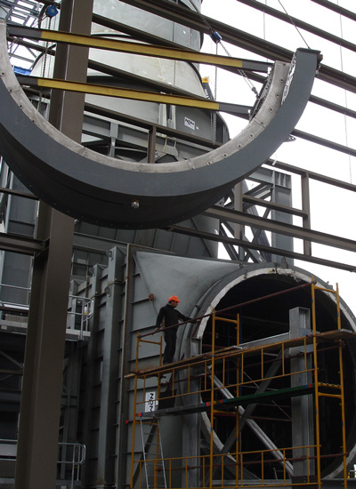 E rection of Gas Turbines and Generators