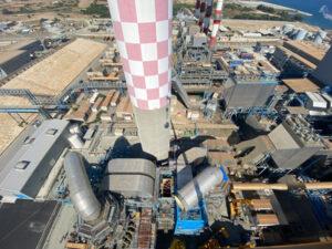 Erection of Desulphurization plant, Cyprus