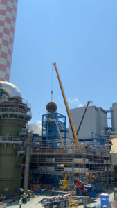 Erection of Desulphurization plant, Cyprus