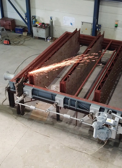 Fabrication of air and flue gas dampers