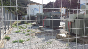 Gensets for power plants in the Greek islands