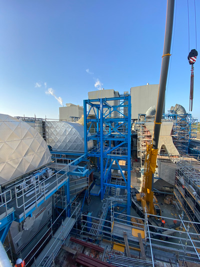 Manufacturing for Desulphurization plant, Cyprus